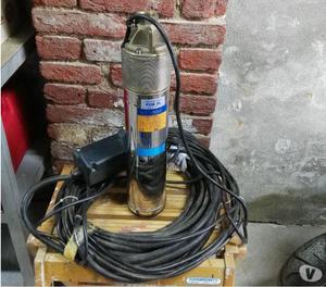 Pompa sommersa per pozzo con motoprotettore, nuova mai usata