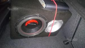 Subwoofer dragster  watt rms