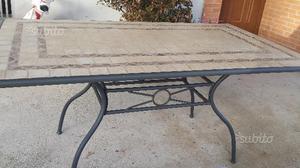 Vendo tavolo con mosaico posot class - Tavolo giardino mosaico prezzi ...