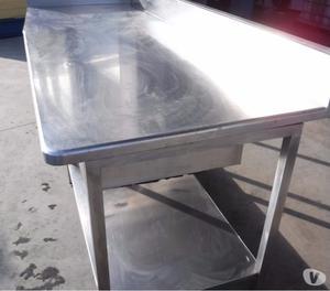 Tavolo usato in inox con piano in teflon posot class for Tavolo usato