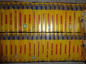 COLLEZIONE completa 40 VHS Città