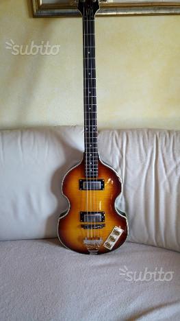 Epiphone Viola Bass basso elettrico Beatles Bass