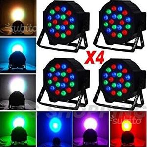 PAR LED FARO RGB 18 x 3 Watt