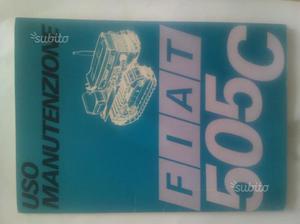 Libretto uso manutenzione Fiat 505 montagna