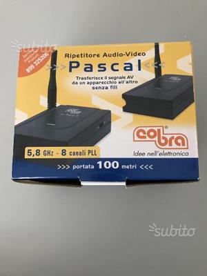 Ripetitore di segnale audio-video cobra Pascal