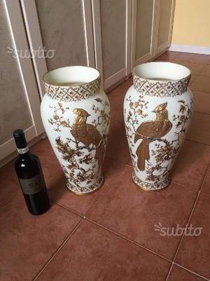 Coppia vasi capodimonte anni 50 posot class for Vasi giapponesi