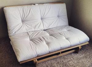 Letto matrimoniale futon con comodino posot class