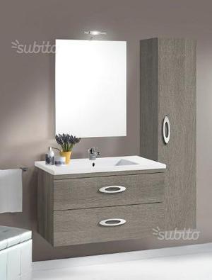 Mobile bagno sospeso con lavabo