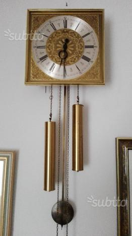 Orologio a pendolo ottone