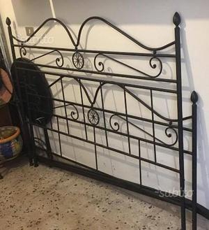 Vendo spalliera usata posot class - Spalliere letto in ferro battuto ...