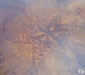 Tavolo rotondo originale antico da 122 cm di diametr Venezia