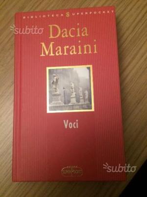 Libro Dacia Maraini Voci