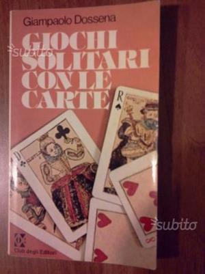 Libro di giochi con le carte