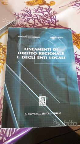 Lineamenti di diritto regionale e degli enti local