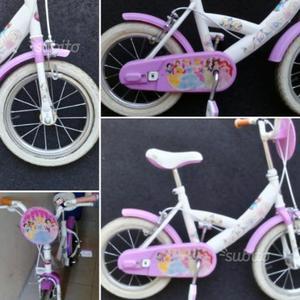 Bici biamba 14' principesse Disney