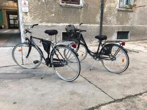 Coppia bici uomo e donna perfette condizioni