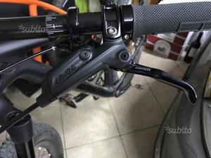 Freni a disco sram level tlm tolti da bici nuova
