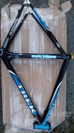 Telaio bici strada corsa trek in carbonio