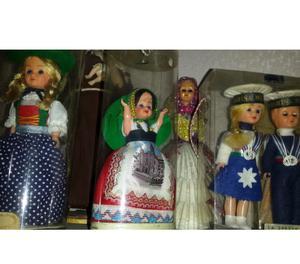 Bamboline da collezione diverse città italiane ed estere