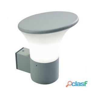 Lampada Applique In Alto A Taglio Colore Alluminio Per