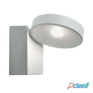 Lampada Applique Tonda Colore Bianco Per Esterno Linea Punto