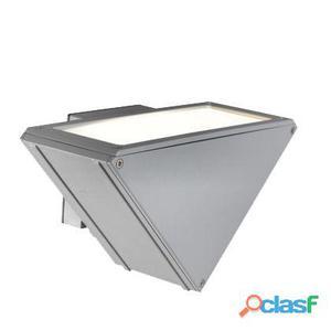 Lampada Applique Verticale Con Led Colore Alluminio Per