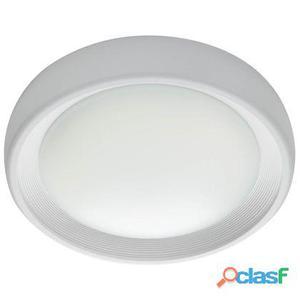 Lampada Plafoniera 13w A Led Smd Tonda Media Colore Bianco