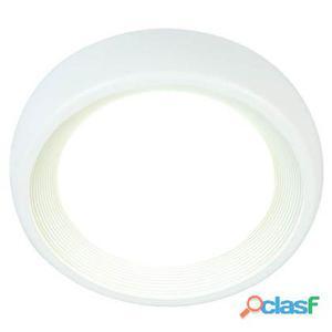Lampada Plafoniera 8w A Led Smd Tonda Piccola Colore Bianco