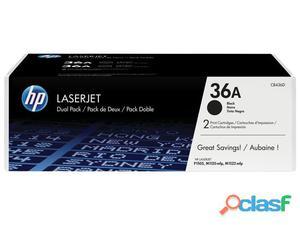 Nuovo CB436AD Hp Inc Cb436adblack Print Cartridge P1505 2 Pz