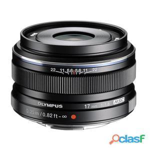 Obiettivo olympus m.zuiko digital ed 17mm f/1.8 nero -