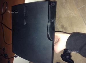 PS3 Slim 160GB + Giochi + Accessori