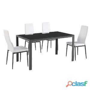 Tavolo da salotto frisetti 4 sedie in vendita  Posot Class