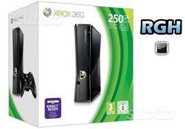 Xbox 360 slim 250 GB + R.G.H