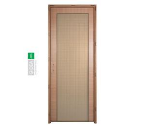 Porta laccata garofoli con vetro righe posot class - Porte interne garofoli ...