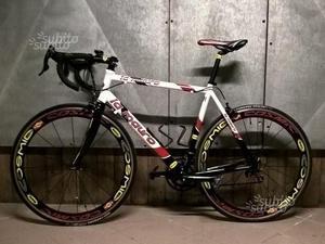 Bici Corsa 56 Cerchi Carbonio Mavic