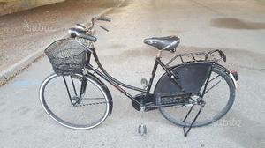 Bicicletta da donna vintage da 26 con cesto