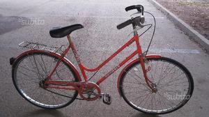 Bicicletta da donna vintage da 26 rossa bronbin