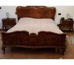 Vendo camera da letto antica e vari mobili posot class - Testata letto antica ...