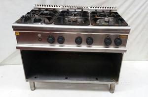 Cucina Professionale Soget 4 Fuochi Vano Posot Class
