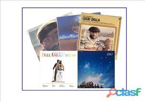 Lucio Dalla 6 dischi LP 33 giri originali