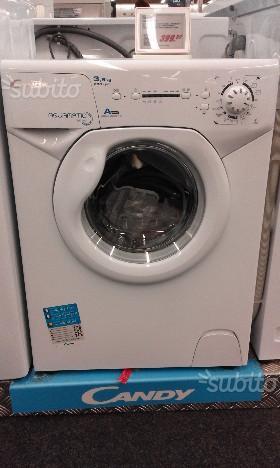 Lavatrice candy aquamatic compatta kg posot class for Mini lavatrice