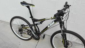 Mountain bike KTM biammortizzata