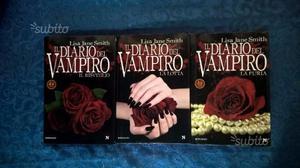 """Collana libri """"il diario del vampiro"""" come nuovi"""