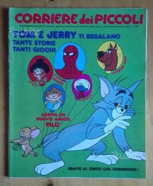 Corriere Dei Piccoli  n°39 con Tom e Jerry