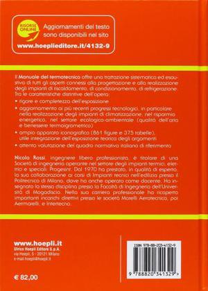 Manuale del Termotecnico - Hoepli