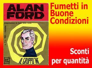 Alan ford originali, tnt gold, ventennale Euro 1