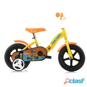 """Bicicletta L'era Glaciale Per Bambino 10"""" Senza Freno"""