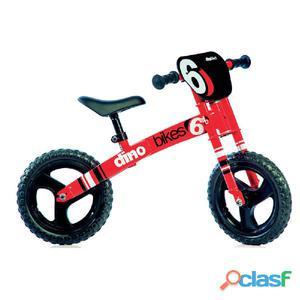"""Bicicletta Pedagogica Per Bambino 12"""" Rossa Senza Pedali"""