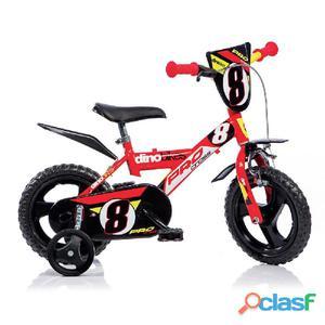 """Bicicletta Per Bambino 12"""" Eva Pro-cross 1 Freno 123gln"""