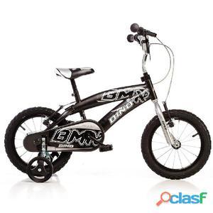 "Bicicletta Per Bambino 14"" Bmx 2 Freni 165xc Dino Bikes"